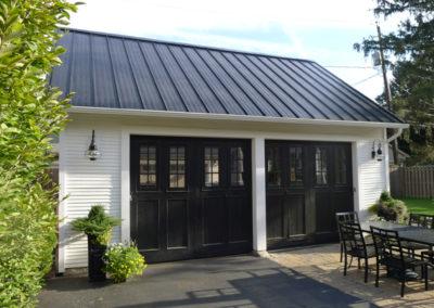 Black Metal Roof 93 with Black Metal Roof